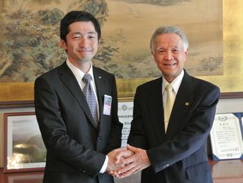 2013年度公益社団法人 姫路青年会議所 理事長 大西 浩二